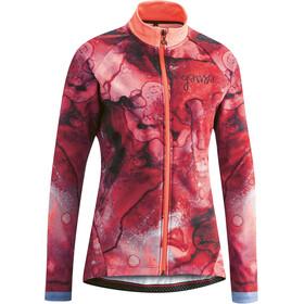Gonso Muzzella Longsleeve Jersey Doorlopende Rits Dames, diva pink